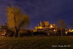 _MG_7906_DxO1 (christophefbt) Tags: chauvigny atelier photo vienne aquitaine poitou 86 pose longue nuit collégiale chateaux harcourt evêques