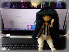 Happy Birthday blog! (Seiji-Univers) Tags: bjd doll vali tan nefer kane circus ck dolls cute tiny girl blog years 2 2017 birthday seiji seijiunivers eklablog lucca jann today