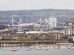 Cardiff, the Principality Stadium (Mr-NHW) Tags: cardiff bay penarth millennium stadium principality wales