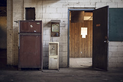 lunch break. (stevenbley) Tags: abandoned canon newjersey rust industrial factory decay nj urbanexploration mold grime lead trespassing urbanexploring urbex 5dmkii canon5dmarkii stupidrednecks