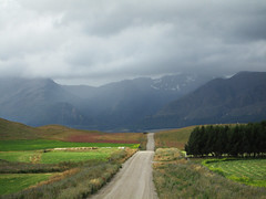 Aysn (Sandro 11) Tags: chile road patagonia mountains field ruta route campo fields cordillera montaas aysen aysn ripio
