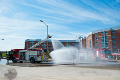London Fire - E4, E5, E7, Mock HAZMAT Scenario (Front Page Photography / Hooks & Halligans) Tags: ontario canada london college fire scenario service department services fanshawe mock hazmat dept fanshawecollege frontpagephotography hookshalligans hooksandhalligansfirephotography hooksandhalligans hookshalligansfirephotography