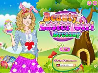 漂亮的復活節女孩(Beauty Easter Girl)