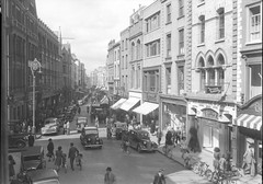 Grafton Street by National Library of Ireland on The Commons (Amir Farhang) Tags: ireland horse dublin fish cars ford caf restaurant flick