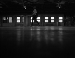 backlight [analog] (__J) Tags: windows blackandwhite bw berlin film backlight analog canon dark 50mm kodak iso400 fenster scan scanned sw a1 analogue canona1 kodakbw400cn turnhalle mitte halle dunkel gegenlicht berlinmitte canonfd50mm18 canonfd schwarzweis gymhall olympusphotographyplayground