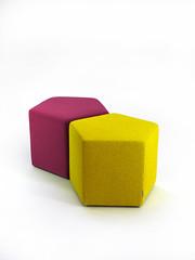 Pentagon Poufs 35 (Quinze & Milan) Tags: milan design seat pouf pentagon quinzemilan quinze quinzeandmilan