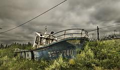 Sailing the fields (Mancha Oscura) Tags: barco ship san juan nieva ria aviles gozn