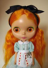 Wonderland (Dolly Mixture   ) Tags: dress handmade alice lolita blythe etsy leeloo aliceinwonderland dollymixture