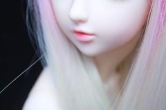 Light box. (Mrsbeccabear) Tags: pink light ball asian doll box lips sd bjd resin lush cp abjd 60 marly miyu f60 jointed feeple