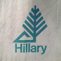Hillary Camp Gear (josh_tuck@ymail.com) Tags: vintage logo tent hillary campinggear