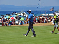 Aaron Rodgers (benjaminfish) Tags: celebrity beach century golf nevada july tahoe tournament american edgewood 2013