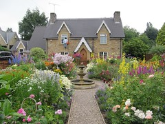 English Cottage Garden (1) (janet7r) Tags: flowers garden derbyshire heath scarecrowtrail