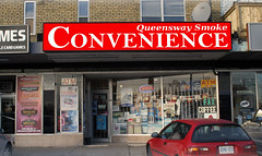 Building Signs | Signarama Meadowvale, ON | Queensway Smoke Convenience