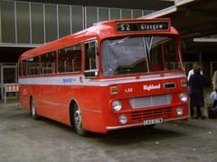 1009 19810703 Highland CAS 517W (CWG43) Tags: uk bus leopard alexander leyland rapson highlandomnibuses highlandscottish cas517w
