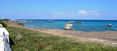 San Foca (Aria_92) Tags: sea italy beach landscape nikon italia mare paesaggi salento puglia spiaggia vacanza paesaggio vacanze lecce scogli aria92