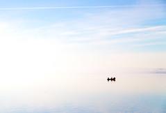 Cloud boat (oliyh - facebook.com/oliverhinephotography) Tags: cloud mist lake finland boat rowing valkeakoski challengegamewinner