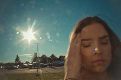 Flare (Claudiulampersberger) Tags: polaroid flare sunflare