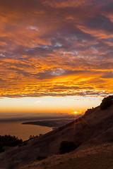 Mt. Tamalpais (Tn) Tags: sunset nature clouds landscape unitedstates marin mttam marincounty mounttamalpais waterscape mttamalpais tonyvanlecom