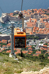 Croatia-01779 - Leaving the Fortress