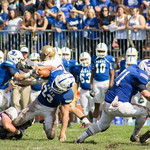 """<b>Homecoming Football 2013, Luther vs. Loras</b><br/> The Luther Football team dominated against Loras, winning 41-7 on Saturday, October 5, 2013. Photography by Jaimie Rasmussen<a href=""""http://farm4.static.flickr.com/3790/10127872865_1356077506_o.jpg"""" title=""""High res"""">∝</a>"""