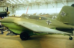 Me 163 Komet (jhonnyclickplane) Tags: classic museum aircraft aviation jet 163 messerschmitt luftwaffe komet inntercepter rocketpowerd