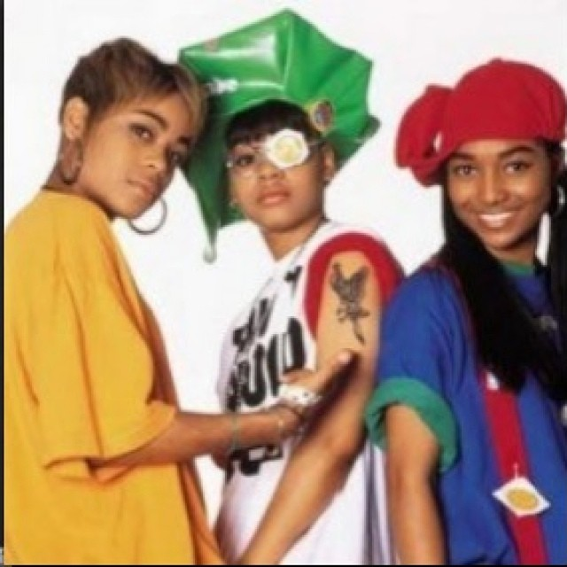 Everybody cant be #crazy, #sexy, and #cool. #tlc #tboz #lefteye #chilli