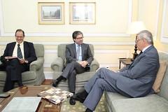 Marco António Costa recebe Embaixador da Ucrânia em Portugal