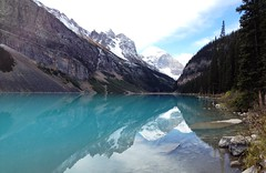 Lake Louise, Banff NP (krchr99) Tags: lake mountains reflection hiking banff lakelouise