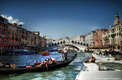 VENICE revisited* (Rex Montalban Photography) Tags: venice italy rialtobridge europe hdr diffusedglow rexmontalbanphotography pse9
