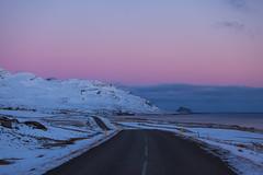 In Faskrudsfjordur at dusk (*Jonina*) Tags: road winter sky iceland dusk sland vetur himinn 3000views 100faves 50faves 4000views 6000views vegur explored 7000views 8000views 9000views fskrsfjrur skrur skrudur faskrudsfjordur ljsaskipti jnnagurnskarsdttir