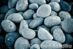 """Nobody trips over mountains. It is the small pebble that causes you to stumble. Pass all the pebbles in your path and you will find you have crossed the mountain."" (Gilbert Rondilla) Tags: blue beach nature horizontal closeup outdoors rocks day stones tranquility sunny nopeople pebbles pebble choice shape abundance variation bataan bluish groupofobjects colorimage abucay gilbertrondilla gilbertrondillaphotography"