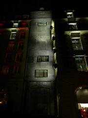 Paris - Fouquet's Barriere - (Smoke-Head Photography) Tags: street light shadow urban paris night hotel nikon ombre lumiere rue nuit urbain