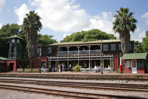 Rovos Rail - Pretoria Park private station