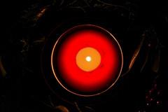 Christmas Candle (he_boden) Tags: christmas light red rot dark weihnachten licht warm candle kerze dunkel