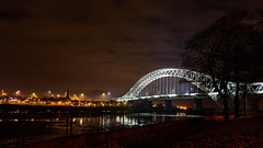SAM_6690 (Neil MacG) Tags: bridge architecture night unitedkingdom merseyside runcornwidnesbridge