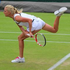 The 127th Championships Wimbledon 2013 - Urszula Radwanska (Pol) (Andy2982) Tags: usa tennis wimbledon pol secondround allenglandlawntennisclub court17 urszularadwanska alisonriske the127thchampionshipswimbledon2013