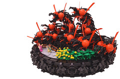 the Proposal (Bart De Dobbelaer) Tags: lego fantasy terror proposal vignette hydra