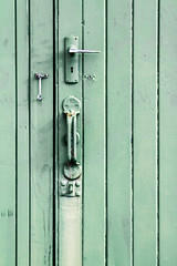 Grab hold (A Different Perspective) Tags: door wood newzealand green wall handle lock hamilton worn latch keybole