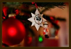 Adventszeit (siggi2234) Tags: weihnachten advent bokeh stern glaskugeln shwotan siggi2234