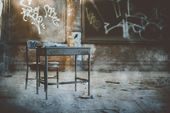 Aged theories. (nataliefongphotography) Tags: old school art abandoned photography documentary books dust nataliefong