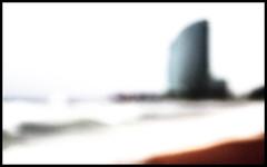 Sand, sea and sailing (Herminio.) Tags: barcelona city blue red sea costa storm verde green rot azul architecture hotel coast mar rojo arquitectura sand meer mediterranean mediterraneo sailing w ciudad arena stadt tormenta architektur vermell grn blau vela ola segeln verd kste ciutat onada sorra wellen tempesta sturm mediterrani mittelmeer wave marivela seaandsailing meerundsegeln maryvela