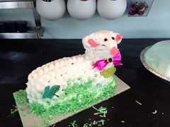 """Lamb Cake • <a style=""""font-size:0.8em;"""" href=""""http://www.flickr.com/photos/109120354@N07/11570693156/"""" target=""""_blank"""">View on Flickr</a>"""