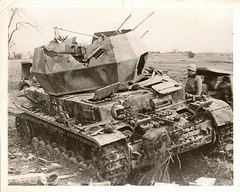 "Destroyed German Flakpanzer IV ""Wirbelwind"" • <a style=""font-size:0.8em;"" href=""http://www.flickr.com/photos/81723459@N04/11620679995/"" target=""_blank"">View on Flickr</a>"