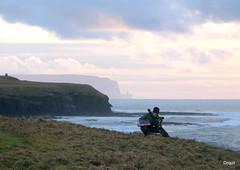 Near Marwick Bay - North-West Orkney Mainland (orquil) Tags: ocean uk winter islands coast scotland seaside orkney artist view cliffs atlantic hoy coastline oldmanofhoy marwick deember
