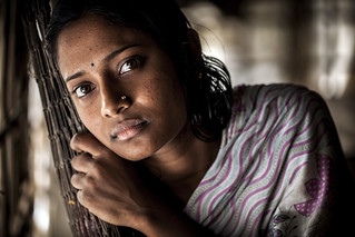 A woman in  Khulna, Bangladesh. Photo by Felix Clay/Duckrabbit.