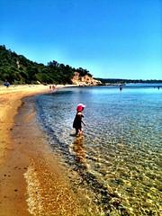 Small Z at Birdrock Beach (miaow) Tags: birthday summer 6yo sixthbirthday