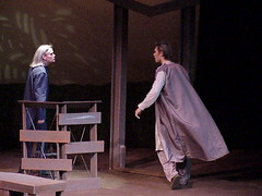 G F argue (Virginia Western Theater) Tags: virginiawesterncommunitycollege vwcc journe