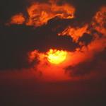 Sun, Smoke and Clouds