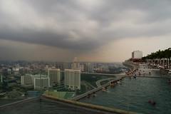 Singapore (Sandra & Dean K.) Tags: city pool marina canon eos bay singapore asia asien infinity 7d sands singapur grosstadt