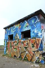Pispala rooftop (Thomas_Chrome) Tags: rooftop suomi finland graffiti europe tampere pispala